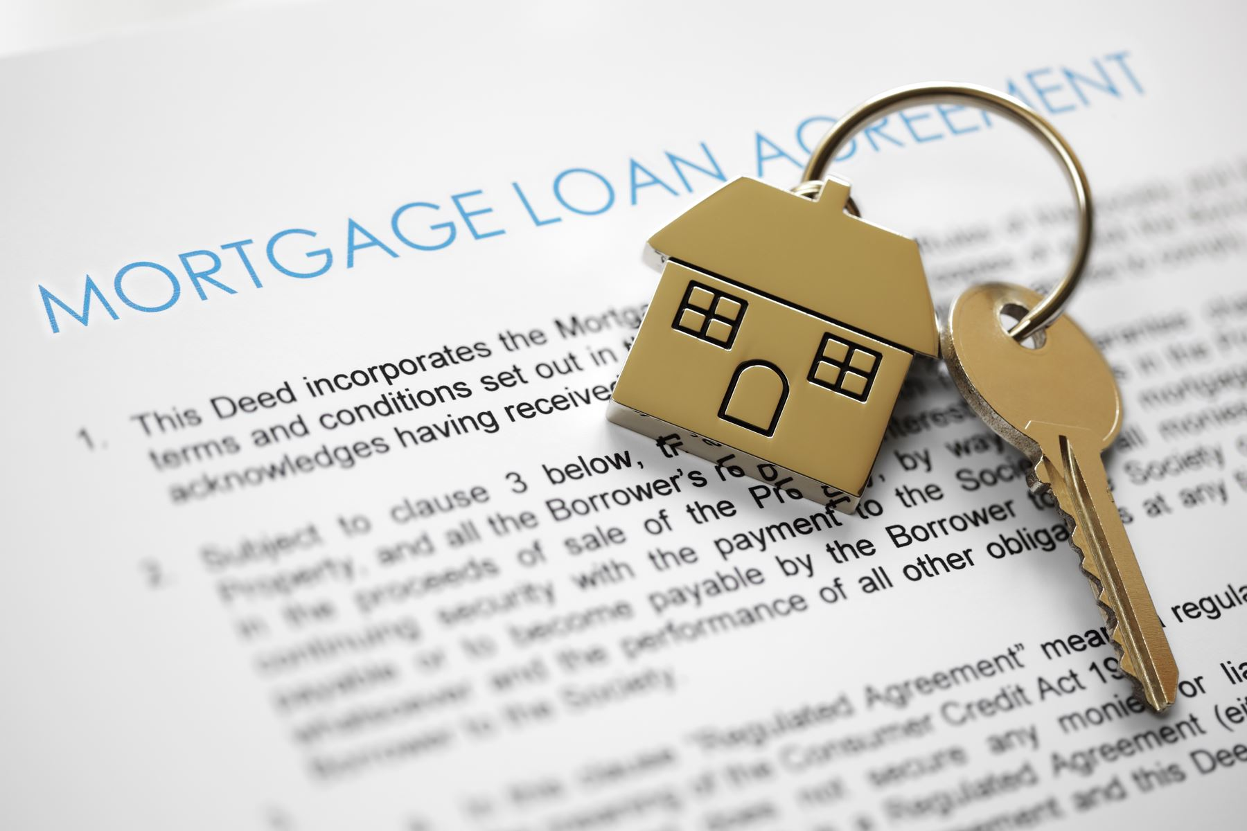 Online Mortgage Application Image